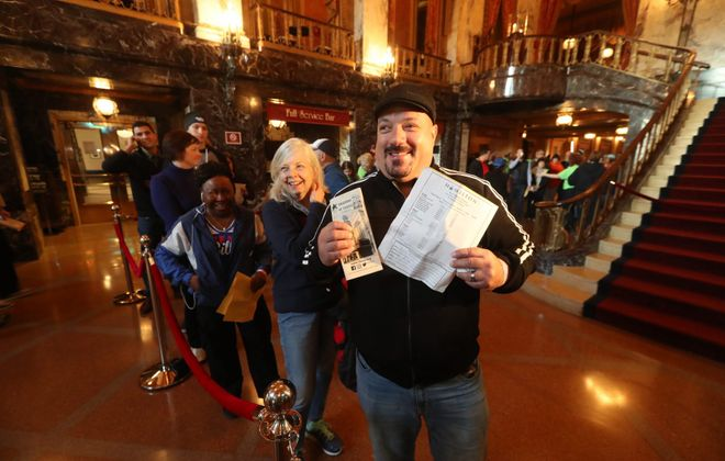 """More than a month after a ticket lottery was conducted at Shea's, prospective """"Hamilton"""" buyers will have a chance for cheap entry. (John Hickey/News file photo)"""