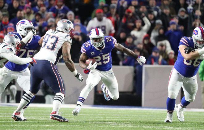 Bills running back LeSean McCoy. (James P. McCoy/News file photo)