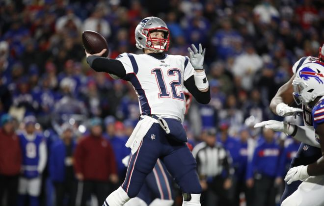 Bills General Manager Brandon Beane will miss seeing his team face quarterback Tom Brady and the New England Patriots. (Harry Scull Jr./Buffalo News)