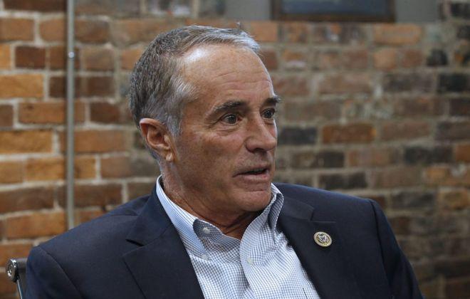 Former Rep. Chris Collins. (Robert Kirkham/News file photo)