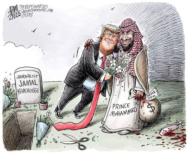 Jamal Khashoggi death: October 17, 2018