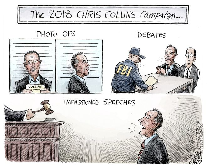 Collins campaign: October 14, 2018