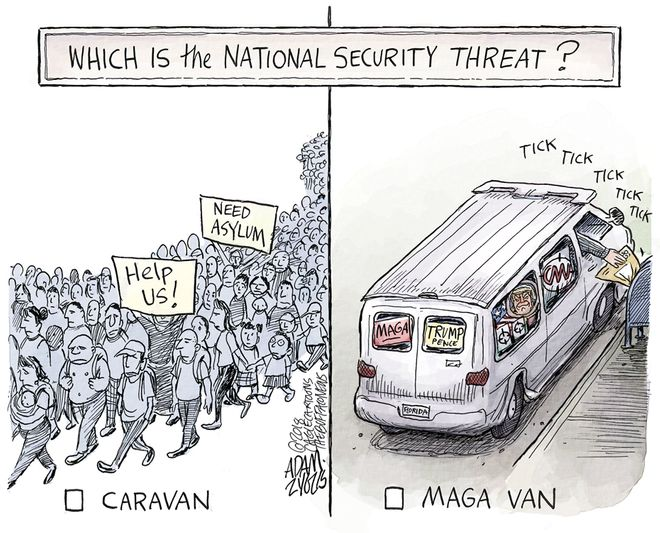 MAGA van: October 27, 2018