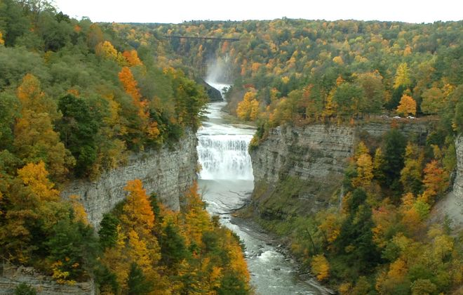 Letchworth State Park is a popular destination to view fall foliage. (News file photo)