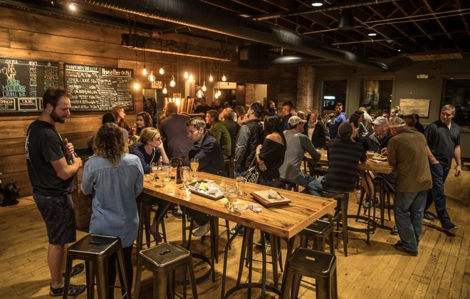 42 North Brewing will celebrate its third birthday this week. (Chuck Alaimo/Special to The News)