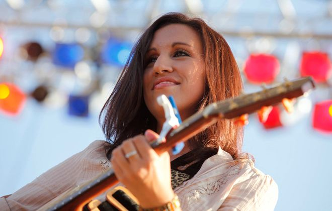 Orchard Park native Amanda Nagurney, pictured performing in 2010, will be part of the lineup in Iron Works for Buffalo Women of Country. (Harry Scull Jr./News file photo)