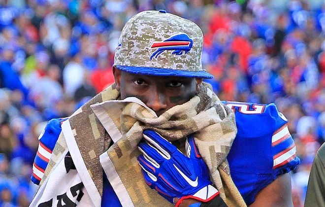 Bills running back LeSean McCoy is entering the final season of his contract. (Harry Scull Jr./News file photo)