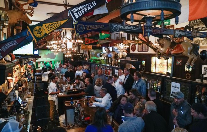 For generations, Cole's has been a gathering spot on Thanksgiving eve.  (Dave Jarosz)