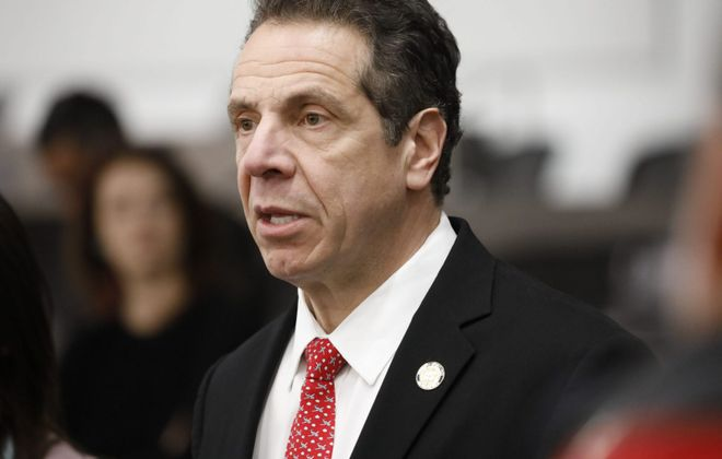 Gov. Andrew M. Cuomo appeared in Niagara Falls on Wednesday. (Derek Gee/News file photo)