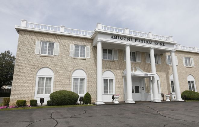 Amigone Funeral Home in Tonawanda. (Robert Kirkham/News file photo)