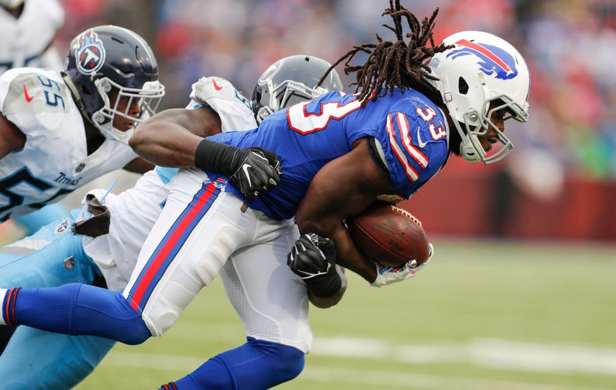 Bills running back Chris Ivory. (Mark Mulville/Buffalo News)
