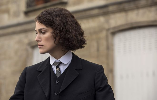 """Keira Knightley is exceptional in the title of """"Colette.""""  (Robert Viglasky/Bleecker Street)"""