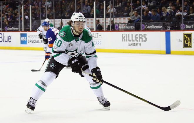 Remi Elie played 72 games last year for the Dallas Stars (Getty Images).