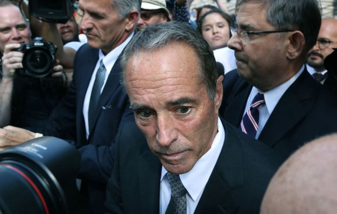 Former Rep. Chris Collins was sentenced Friday after pleading guilty to charges involving insider trading. (Jefferson Siegel/Special to The News)