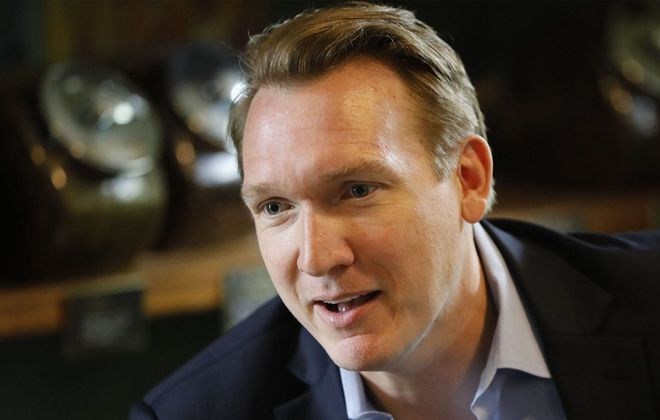 Former Grand Island Supervisor Nate McMurray is running for Congress in the 27th Congressional District. (Derek Gee/Buffalo News file photo)