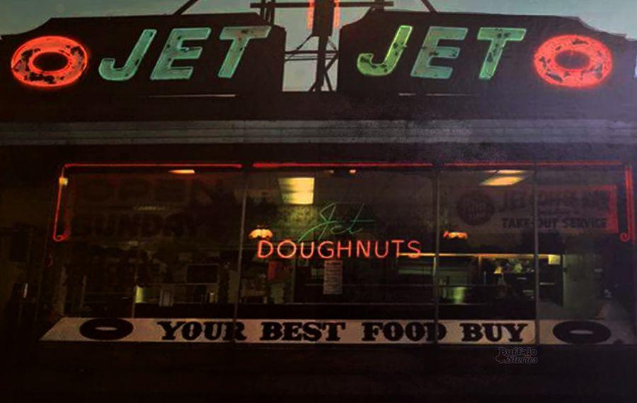 Before there was Paula's, Tonawanda had Jet Doughnuts