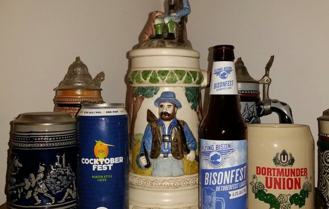 Oktoberfest-styled beers are perfect for the cooler fall weather. (Brian Campbell/Special to The News)