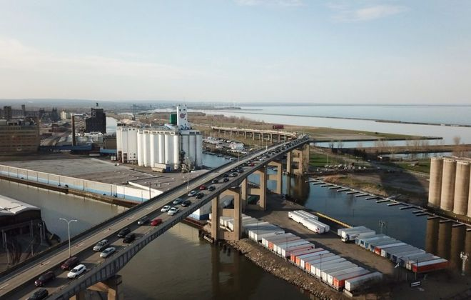 The future of Buffalo's Skyway is up for debate.(John Hickey/News file photo)