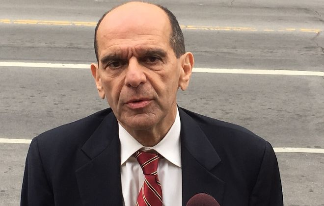 Mitchell Garabedian, the Boston attorney who was key in unraveling the cover-up of clergy sexual abuse in Boston, is representing Siobhan O'Connor, the former administrative assistant to Buffalo Bishop Richard J. Malone. O'Connor leaked hundreds of clergy sexual abuse records to WKBW-TV. (Jay Tokasz/Buffalo News)