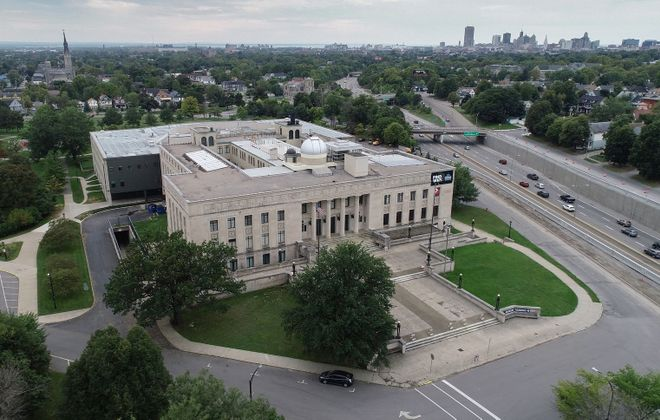 Video: A soaring view of the Buffalo Museum of Science