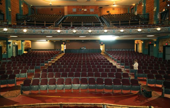 The interior of the Historic Palace Theatre in Lockport. (Buffalo News file photo)