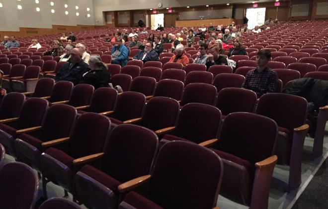 West Seneca West High School, the auditorium of which is shown here, is in line for renovations.(Barbara O'Brien/Buffalo News)