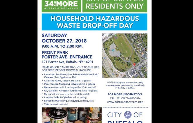 Buffalo hosts Household Hazardous Waste Drop-off Day on Saturday