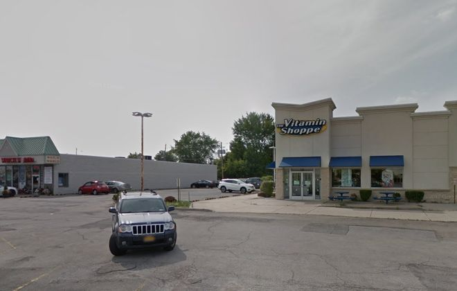 Tim Hortons franchisee Amit Ahuja bought this Vitamin Shoppe retail building on Niagara Falls Boulevard. (Google Maps)