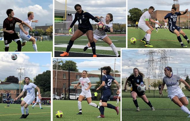 While only three teams will play home games, several local college soccer teams have advanced to their postseason tournaments. (Ben Tsujimoto/Buffalo News)