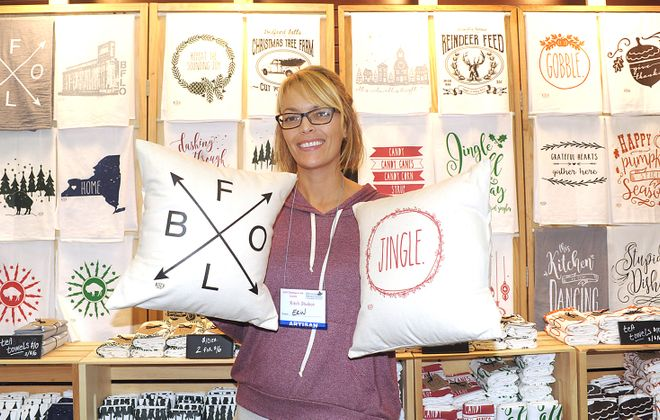 Kitch Studios will return to Christmas in the Country with a unique selection of vintage and retro screenprinting. (Dan Cappellazzo/Special to The News)