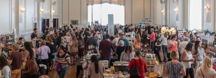 Earlier this year, Step Out Buffalo welcomed over 75 vendors to the Hotel @ the Lafayette for the spring Makers + Shakers Artisan Market. (Don Nieman/Special to The News)