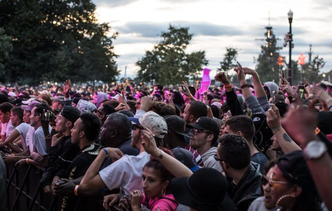 The crowd at Tailor Made Music Festival in 2017. This year's show has been postponed until November. (Chuck Alaimo/Special to The News)