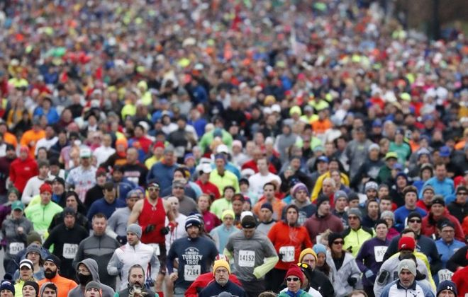 Registration for the 2019 YMCA Turkey Trot opened Tuesday Aug. 6. (Mark Mulville/News file photo)