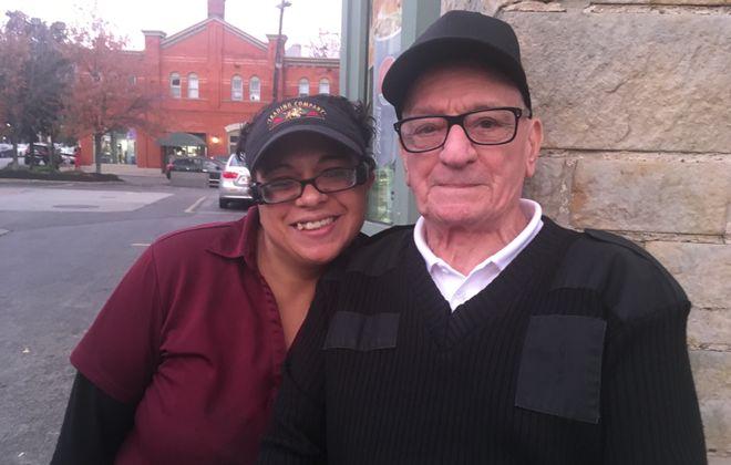 Amy Tice and Donald Sandino. (Sean Kirst/the Buffalo news)