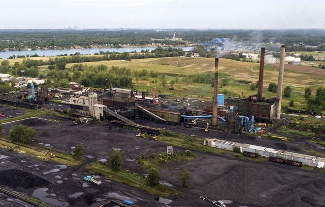 The Tonawanda Coke facility on River Road shut down for good in October 2018. (Derek Gee/News file photo)