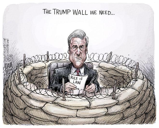 Mueller probe threatened: November 9, 2018