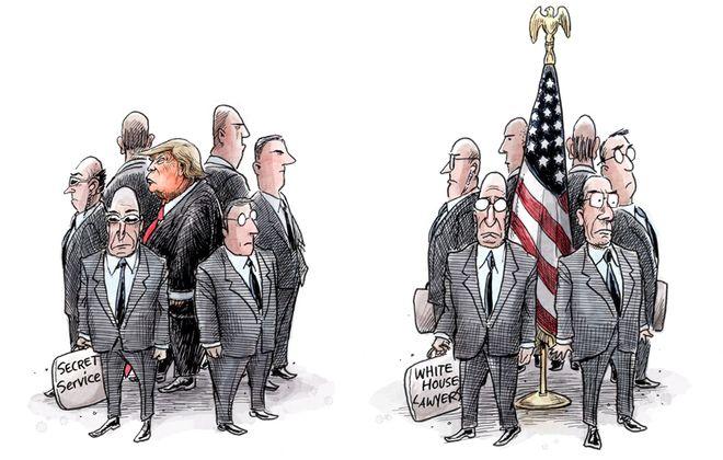 His undemocratic impulses: November 23, 2018