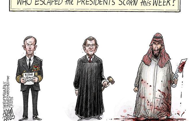President's scorn: November 24, 2018
