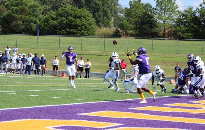 Former Williamsville South and Erie Community College quarterback Sam Castronova led NAIA Bethel University. (Photo courtesy of Bethel Athletics)