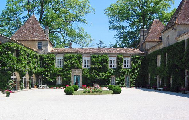 Chateau Carbonnieux in France.