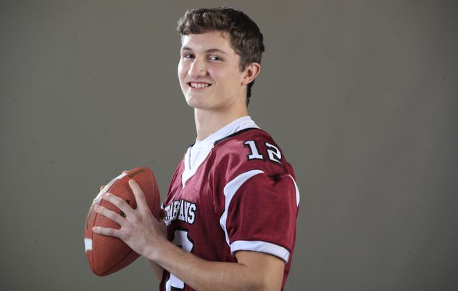 Aaron Chase, quarterback at Starpoint High School, was named to the Buffalo News All-Western New York first team. (Harry Scull Jr./ Buffalo News)