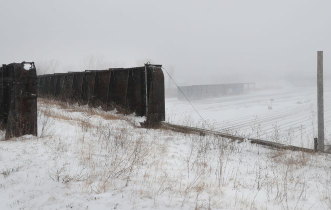 """The WNY Land Conservancy is proposing the development of a 1.5-mile """"High Line"""" along the DL&W right of way between Michigan Ave. and Solar City. (Sharon Cantillon/New file photo)"""