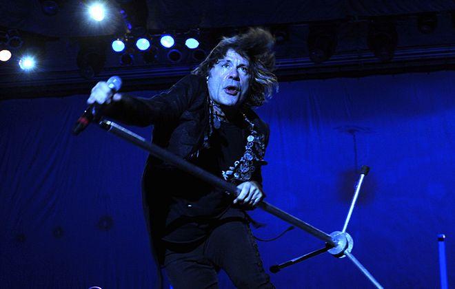Iron Maiden singer Bruce Dickinson will be in Buffalo next August. (Francesco DeGasperi/Getty Images)