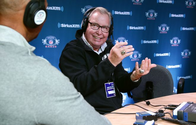NFL Hall of Fame player Ron Jaworski attends SiriusXM at Super Bowl LII Radio Row at the Mall of America on February 1, 2018 in Bloomington, Minnesota.  (Getty Images for SiriusXM)