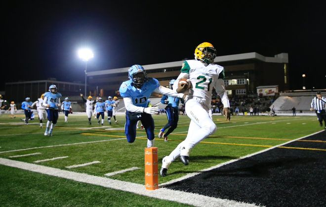 West Seneca East beat Indian River on Friday night. (Harry Scull Jr./Buffalo News)
