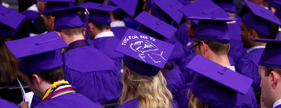 The question facing all college graduates: Fly, but to where? (John Hickey/News file photo)