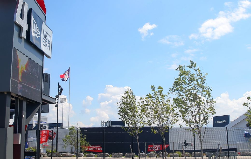 Pegula Sports has hired a consulting firm to examine renovations and site options for the Bills stadium and KeyBank Center. (John Hickey/Buffalo News)
