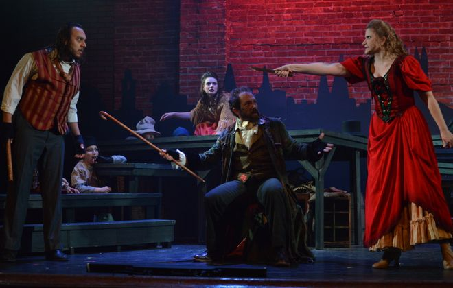 """Hum along with the familiar songs of """"Oliver!"""" in the new production of the popular musical at the  Lancaster Opera House."""