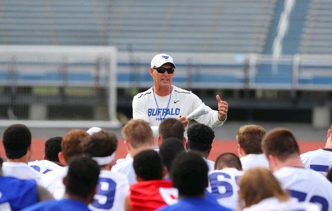UB football coach Lance Leipold. (John Hickey/Buffalo News)