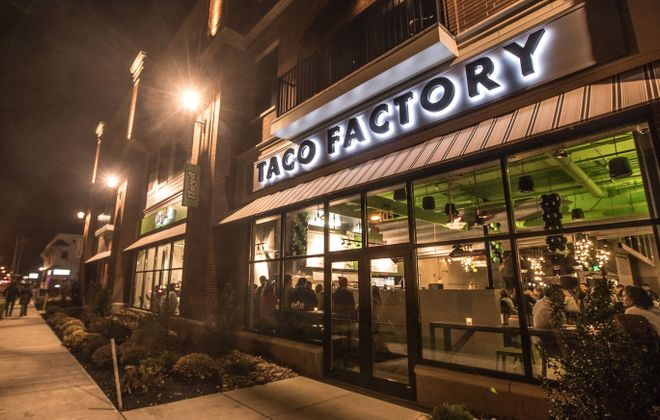 The outside of Lloyd Taco Factory in Williamsville, one of the two brick-and-mortar restaurants associated with Lloyd. (Chuck Alaimo/Special to The News)